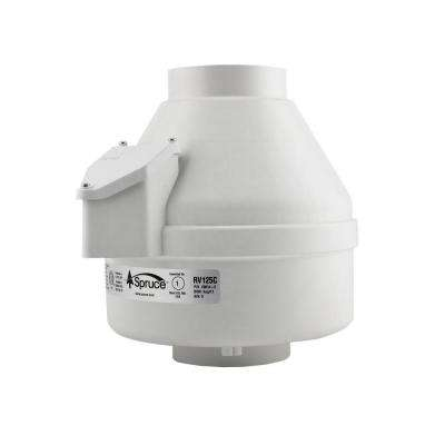 RV125 4 in. Inline Ventilation Fan