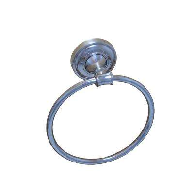 Edgerton Collection Towel Ring in Chrome