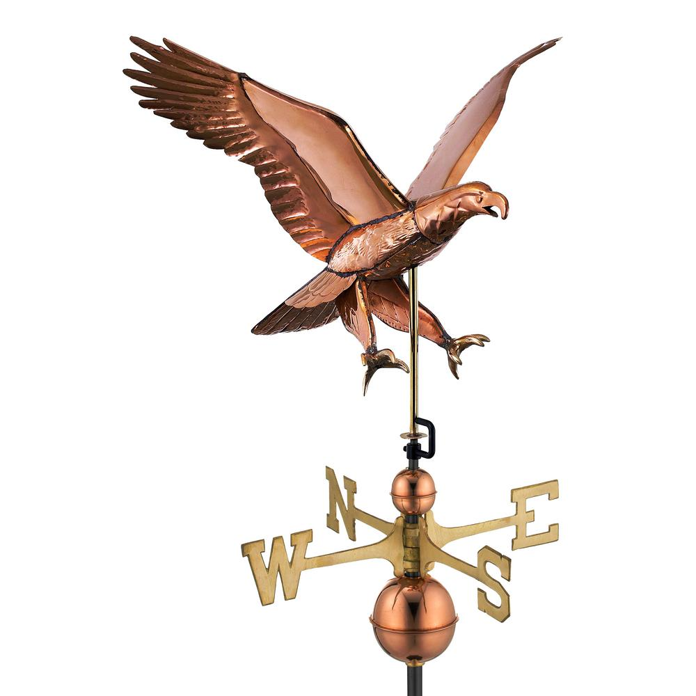 Attack Eagle -Weathervane - Pure Copper