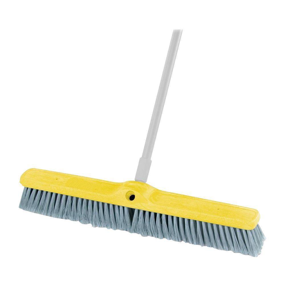 Rubbermaid Fine Floor Sweep Broom Rcp9b0200gy The Home Depot