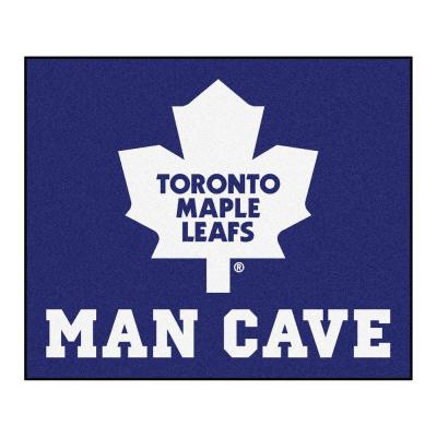 Toronto Maple Leafs Blue Man Cave 5 ft. x 6 ft. Area Rug