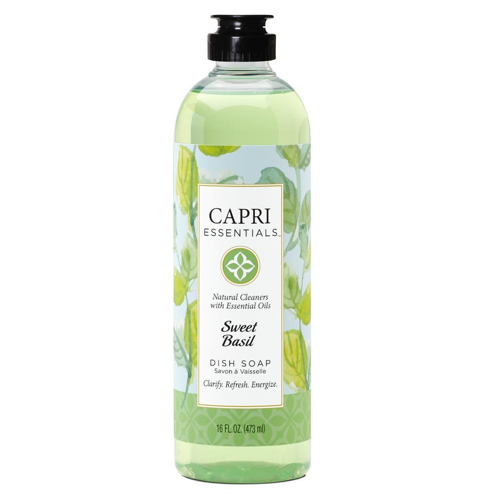 Capri Essentials Dish Soap - Sweet Basil