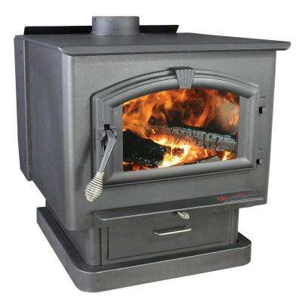 3,000 sq. ft. EPA Certified Wood-Burning Stove