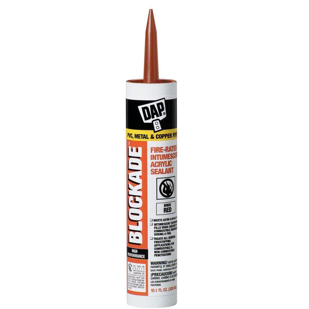 BLOCKADE 10.1 oz. High Performance Intumescent Acrylic Sealant (12-Pack)