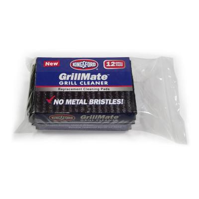 GrillMate Refill Pads 12-Count Bristle Free Replacement Pads
