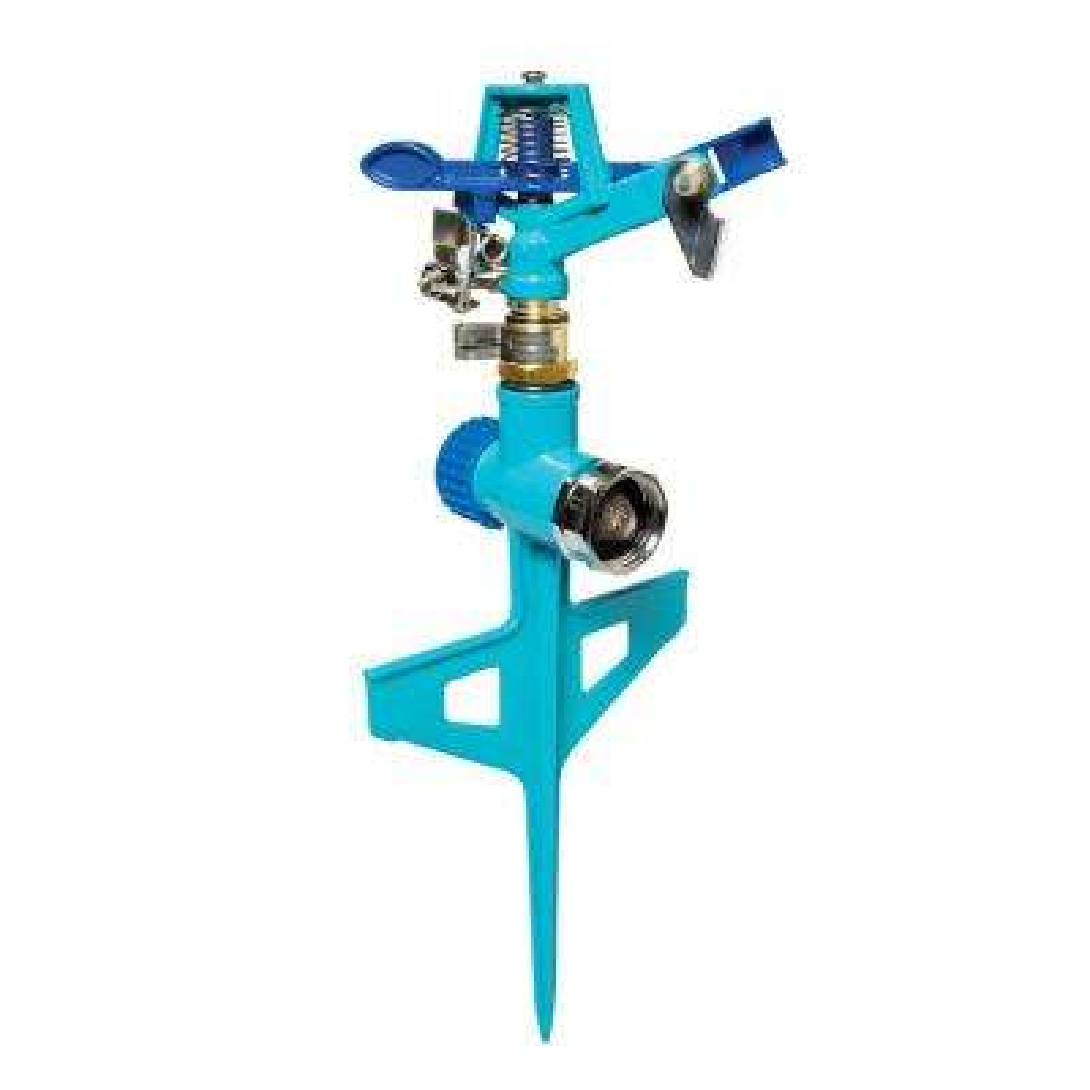 360-Degree Indestructible Zinc Impulse Sprinkler