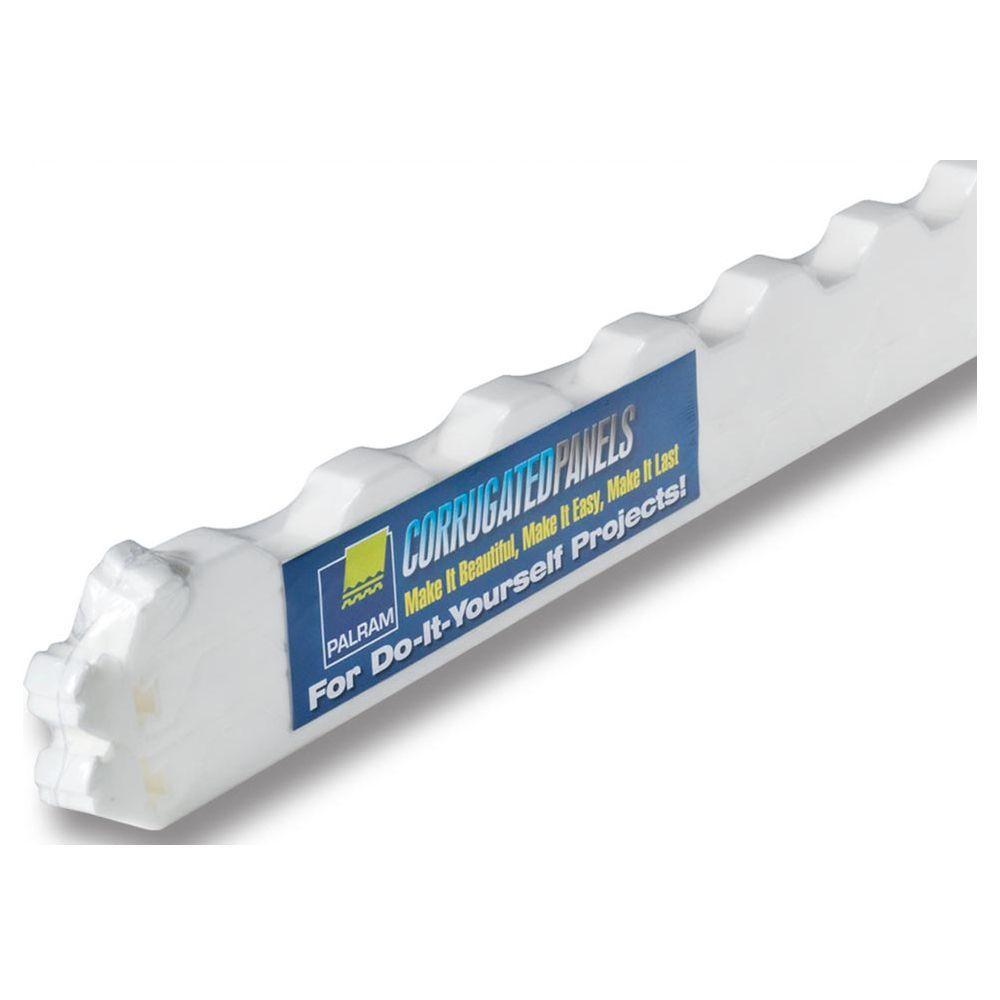 36 in. Horizontal Foam Closure Strips (5-Pack)