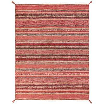 Andes Santa Fe Rust 4 ft. x 6 ft. Area Rug