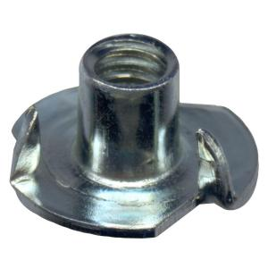 Qty 50 5//16-18 x 1//2 Stainless Steel T-Nut UNC 4 Prong