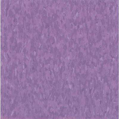 Take Home Sample - Imperial Texture VCT Vicious Violet Commercial Vinyl Tile - 6 in. x 6 in.