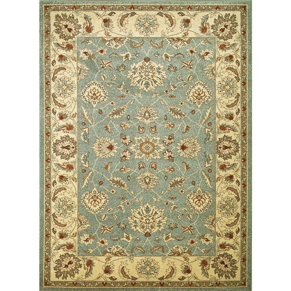 Concord Global Trading Chester Oushak Blue 6 ft. 7 in. x 9 ft. 3 in. Area Rug