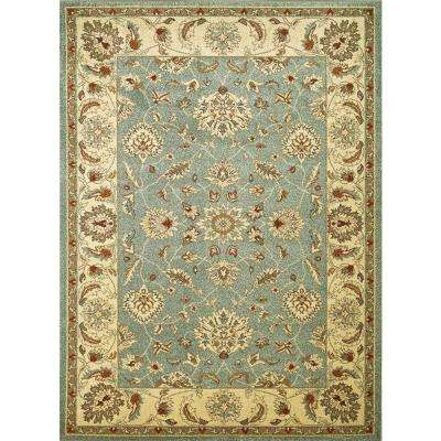 Chester Oushak Sea-foam Blue 5 ft. x 7 ft. Area Rug