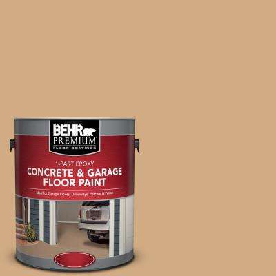 1 gal. #PFC-22 Cold Lager 1-Part Epoxy Satin Interior/Exterior Concrete and Garage Floor Paint