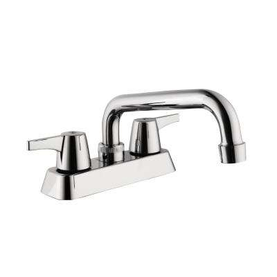 Centerset 2 Handle Laundry Faucet In Chrome