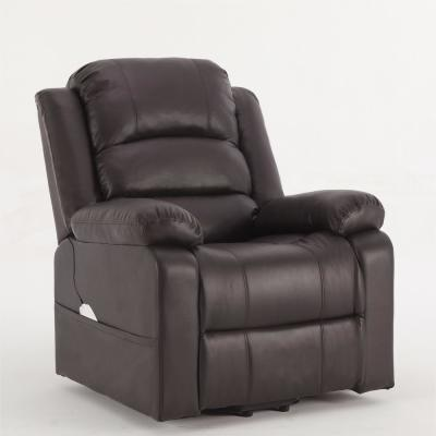 Dark brown Power Lift Assist Recliner