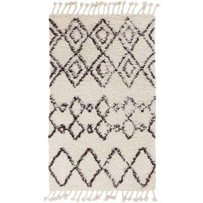 Yiwu Ivory 9 ft. x 13 ft. Indoor Area Rug