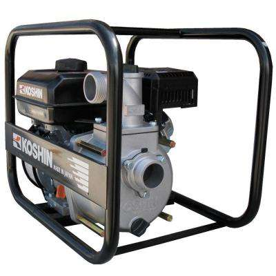 2 in. 6 HP Semi-Trash Pump with Engine