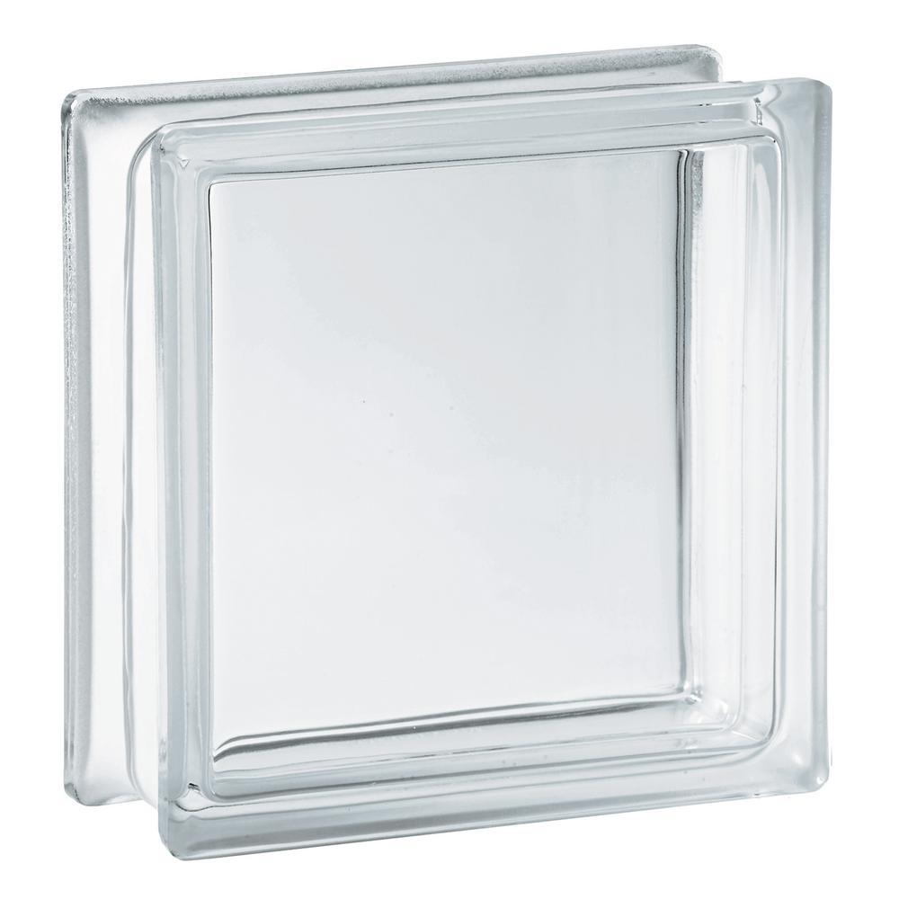 7.75 in. x 7.75 in. x 3.12 in. Clear Pattern Glass