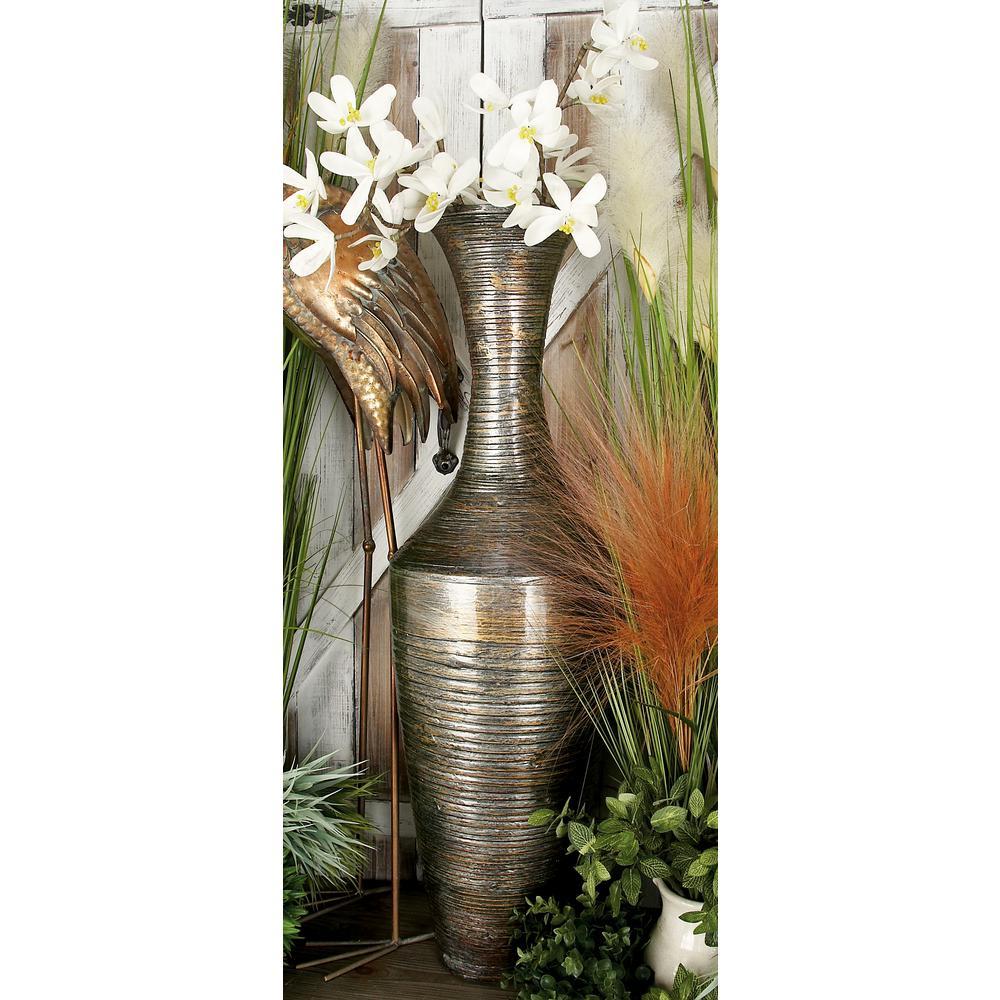 Globetrotter Mocha Brown Bamboo Decorative Vase