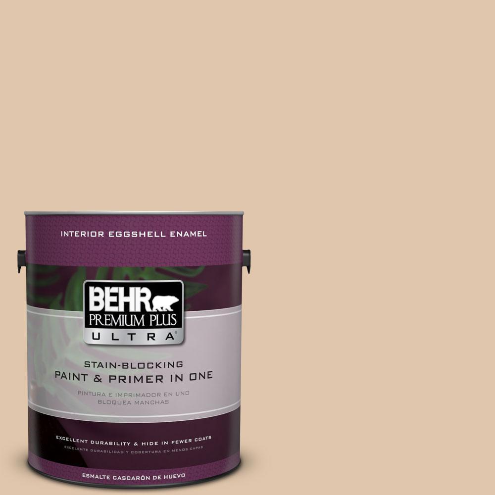 BEHR Premium Plus Ultra 1-gal. #S260-2 Pumpkin Seed Eggshell Enamel Interior Paint