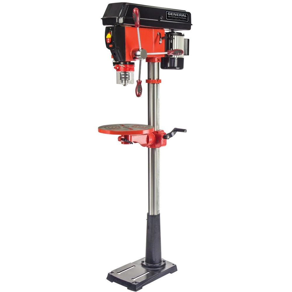 15 in. Drill Press with Variable Speed, Laser System and LED