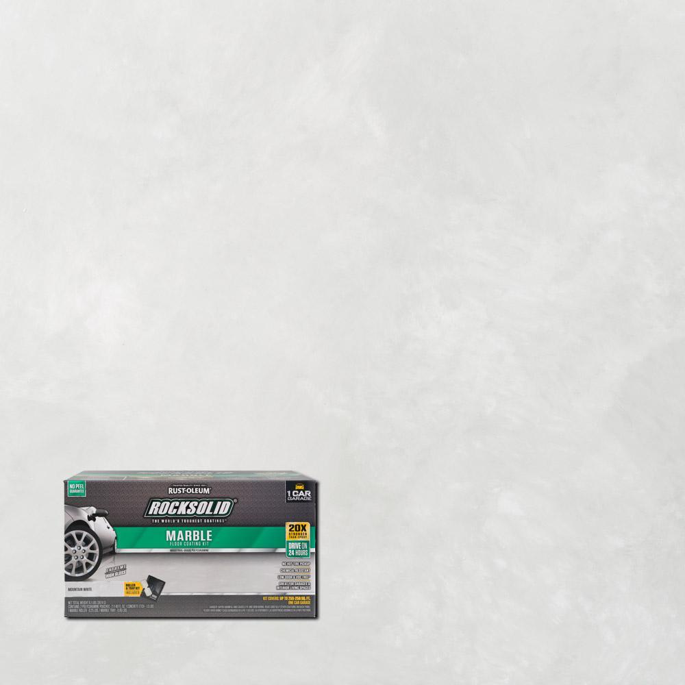 70 oz. Marble Mountain White Garage Floor Kit