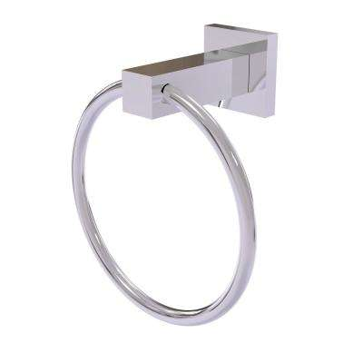 Montero Collection Towel Ring in Polished Chrome