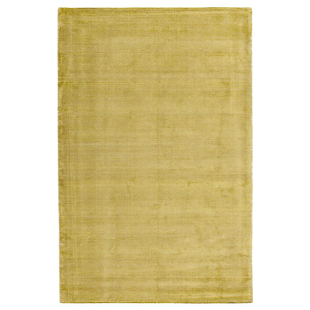 Solo Rugs Grit And Ground Lime Silky Stripe Green 6 Ft X 9 Ft Hand Knotted Area Rug Gg010601012 The Home Depot