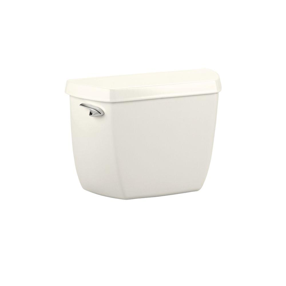 KOHLER Wellworth Classic 1.6 GPF Toilet Tank Only in Biscuit-DISCONTINUED