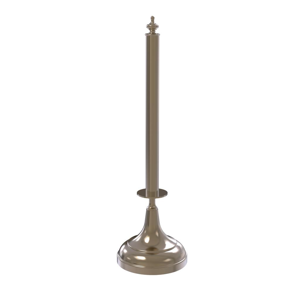 Traditional Counter Top Kitchen Paper Towel Holder in Antique Pewter