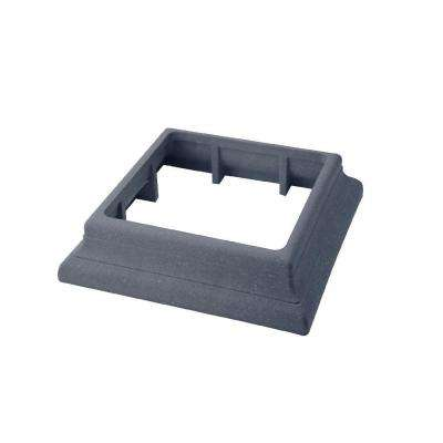 Vantage 5-1/2 in. x 5-1/2 in. Cape Cod Gray Composite Beveled Post Trim Collar