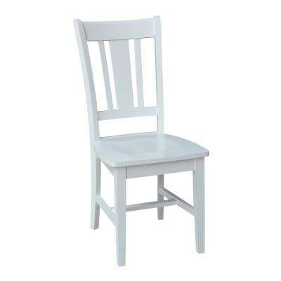 San Remo White Dining Chair