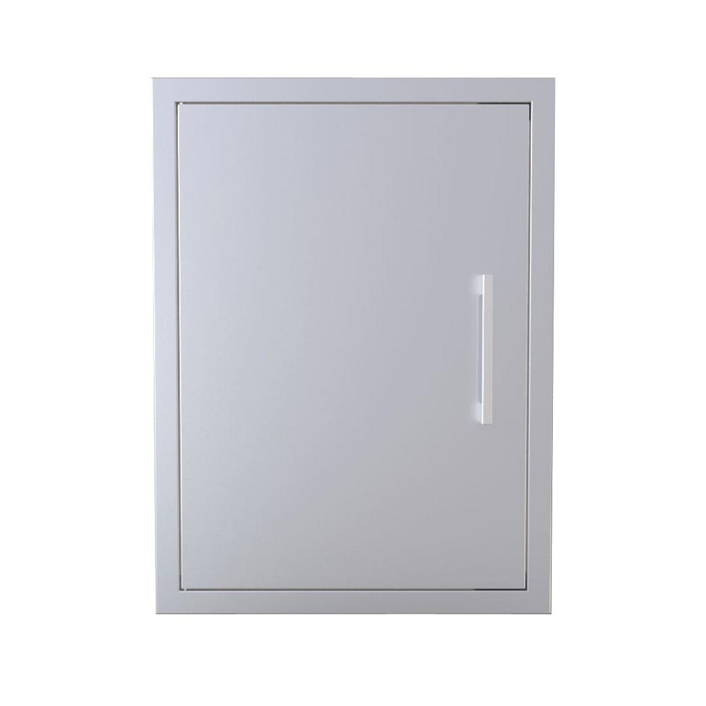 Sunstone Signature Series Beveled Style 20 in. H by 27 in.W Reversible Swing Vertical Access Door