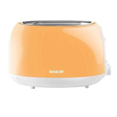 2-Slice Pastel Orange Toaster