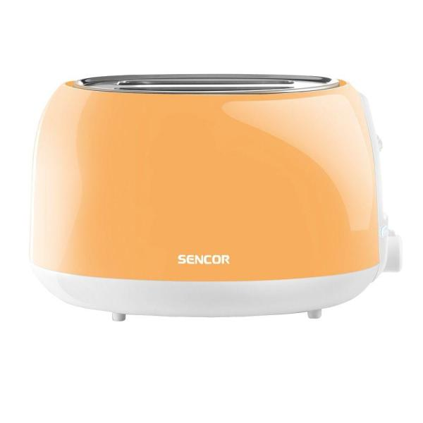 2-Slice Peach Orange Long Slot Toaster
