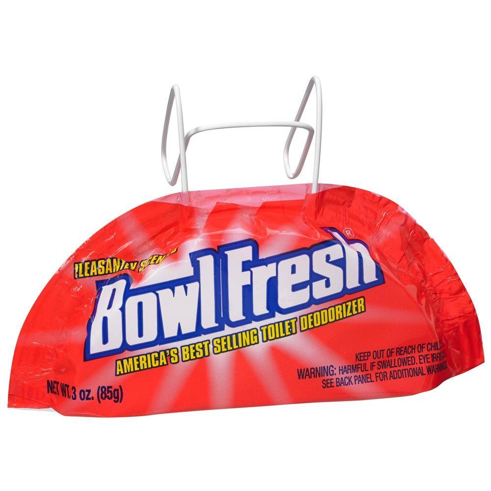 Bowl Fresh 3 oz. Para Toilet Bowl Deodorizer Wire Hanger (18-Pack ...