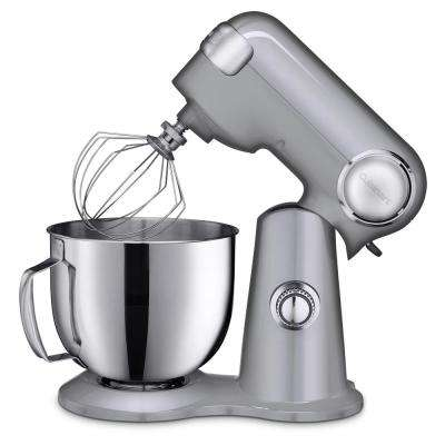 5.5 Qt. 12-Speed Chrome Stand Mixer with Accessories