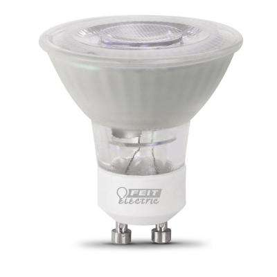 50-Watt Equivalent MR16 GU10 Dimmable CEC Title 20 Compliant LED 90+ CRI Frosted Flood Light Bulb, Bright White
