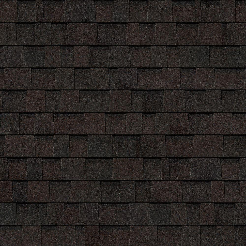 Delightful Oakridge Black Walnut Laminate Architectural Shingles (32.8 Sq. Ft. Per  Bundle)