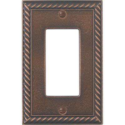 Pearson Rope 1 Gang Toggle - Oil-Rubbed Bronze