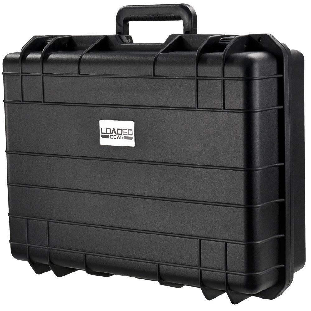 Loaded Gear HD-400 7.9 in. Hard Case, Black