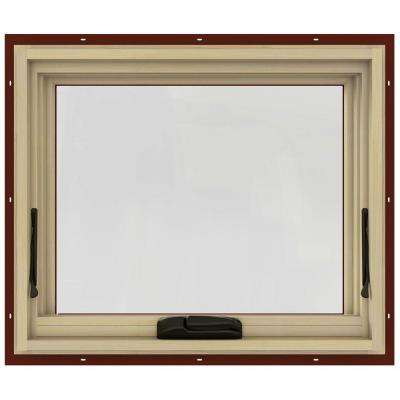 24.75 in. x 20.75 in. W-2500 Awning Clad Wood Window