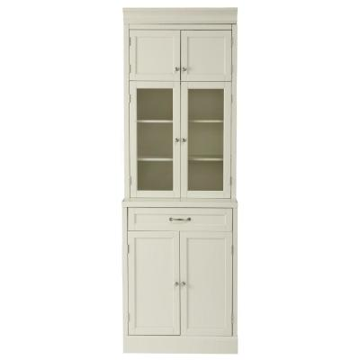 Royce True White 1-Drawer Modular Cabinet