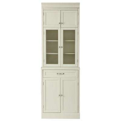 Royce True White 1 Drawer Modular Cabinet