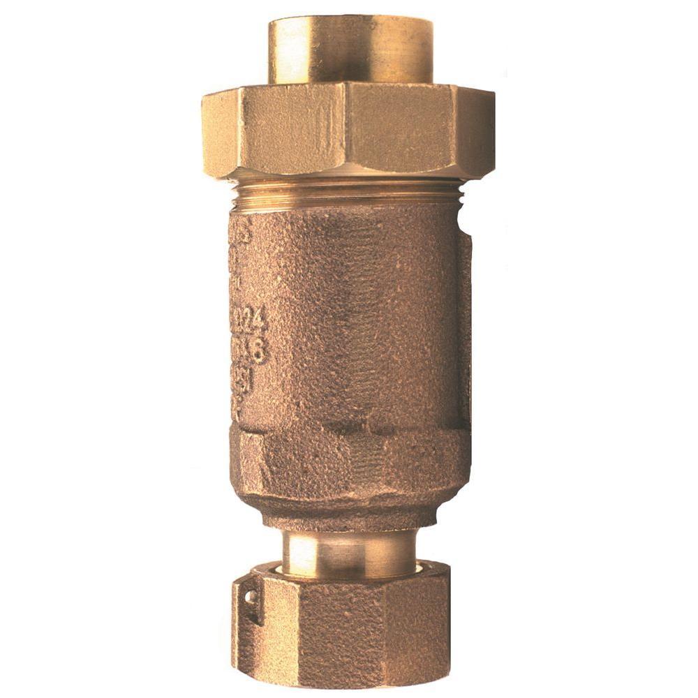 1 in. Union FMTC Inlet x 1 in. MMTC Outlet Lead-Free