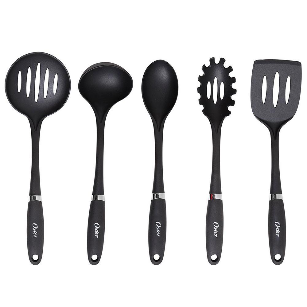 Noble Chef Nylon Black Kitchen Tool (Set of 5)