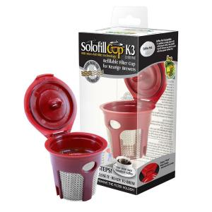 Solofill Refillable Reuseable K Cup For Keurig Brewing