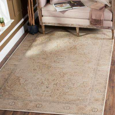 Vintage Stone 4 ft. x 5 ft. 7 in. Area Rug