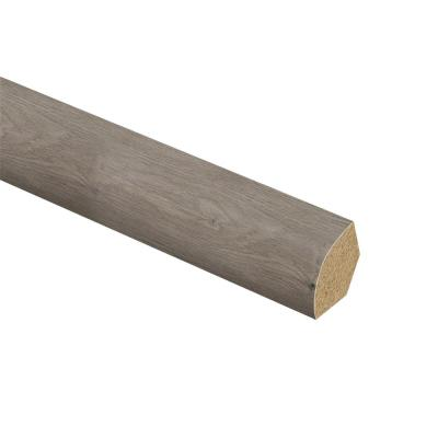 Ashcombe Aged Oak 5/8 in. Thick x 3/4 in. Wide x 94 in. Length Laminate Quarter Round Molding
