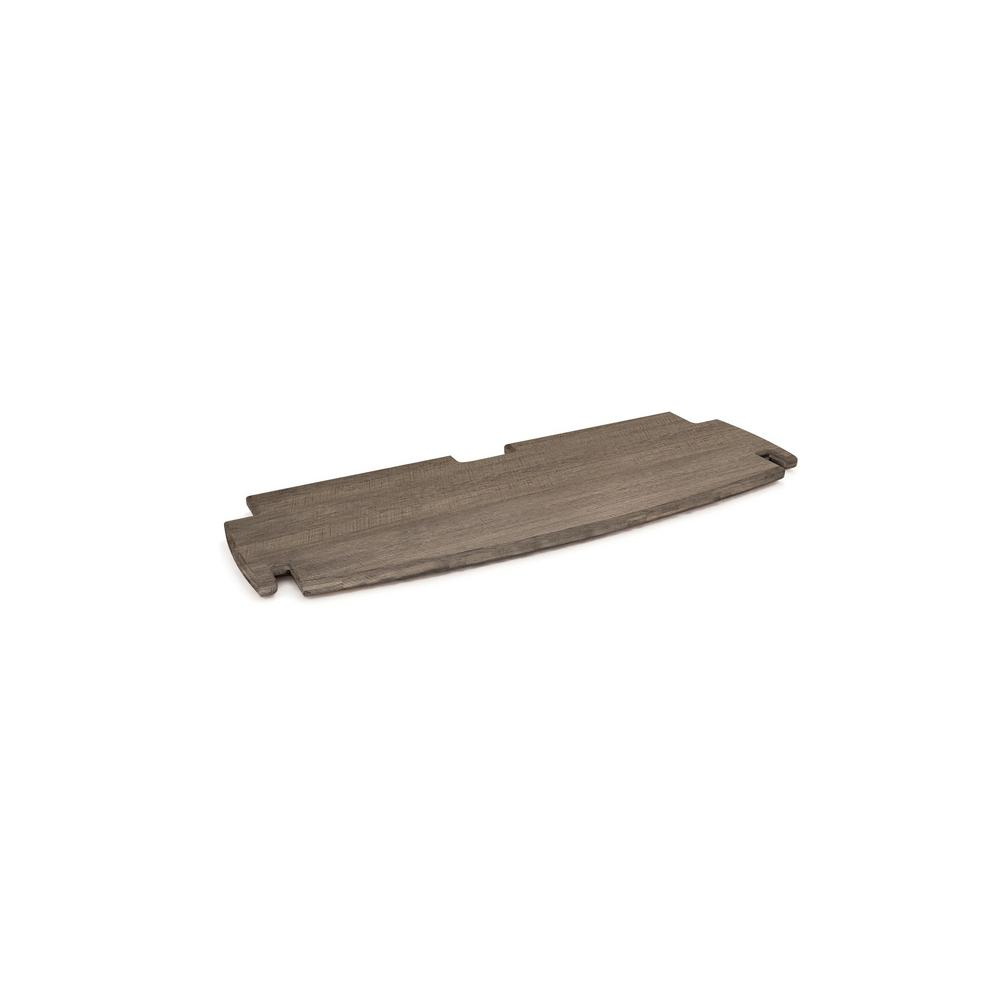 Legare 24 In Extra Shelf For Desk Or Bookshelf With Solid Wood Grey Driftwood